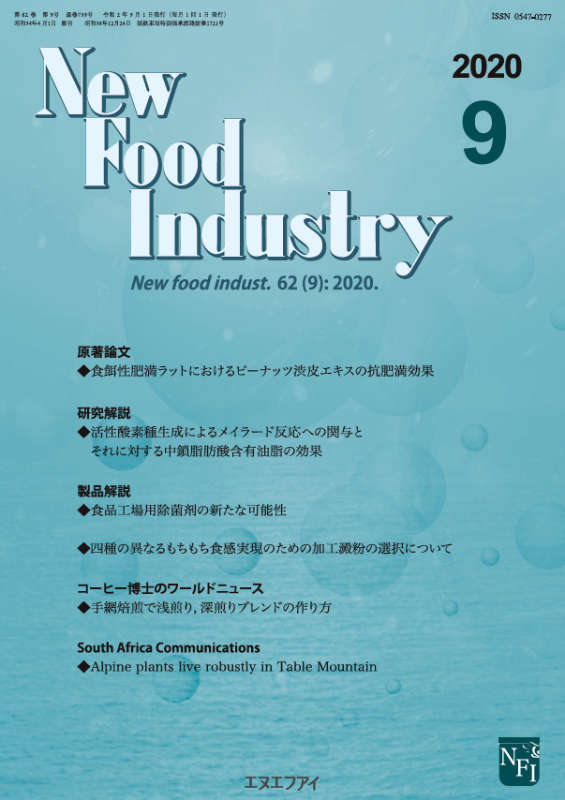 New Food Industry